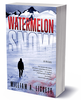 Watermelon Snow Cli-Fi Book Cover